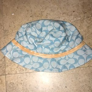 Vintage Coach bucket hat
